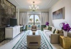 Rixos Saadiyat Island Abu Dhabi 1-bed suite living room