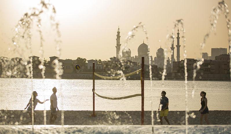 Fairmont Bab Al Bahr - View towards the Mosque