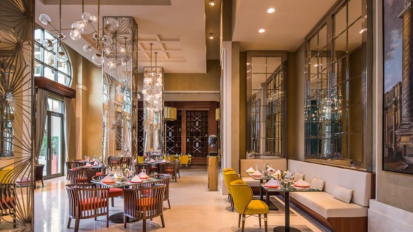 Rixos Saadiyat Island - L'Olivo Italian Restaurant
