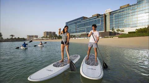 Fairmont Bab Al Bahr Paddle Boarding
