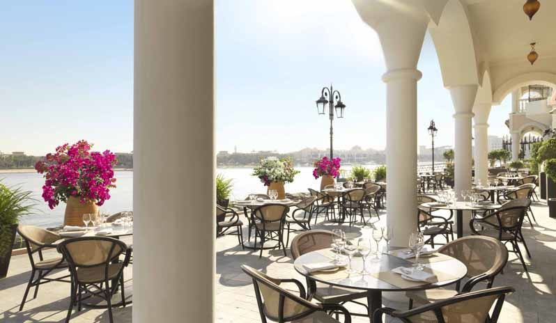 The Ritz Carlton Abu Dhabi Sunny Venetian Restaurants