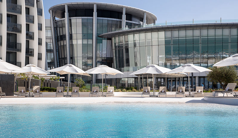Jumeirah At Saadiyat Island Resort Pool View And Exterior View