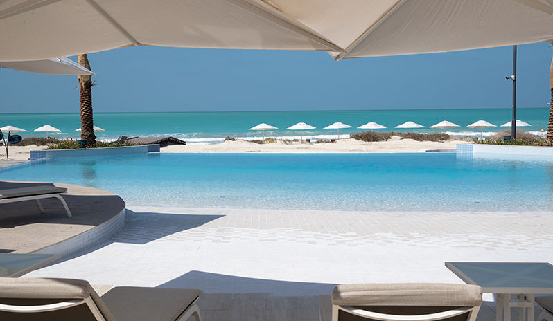 Jumeirah At Saadiyat Island Resort Pool And Beach