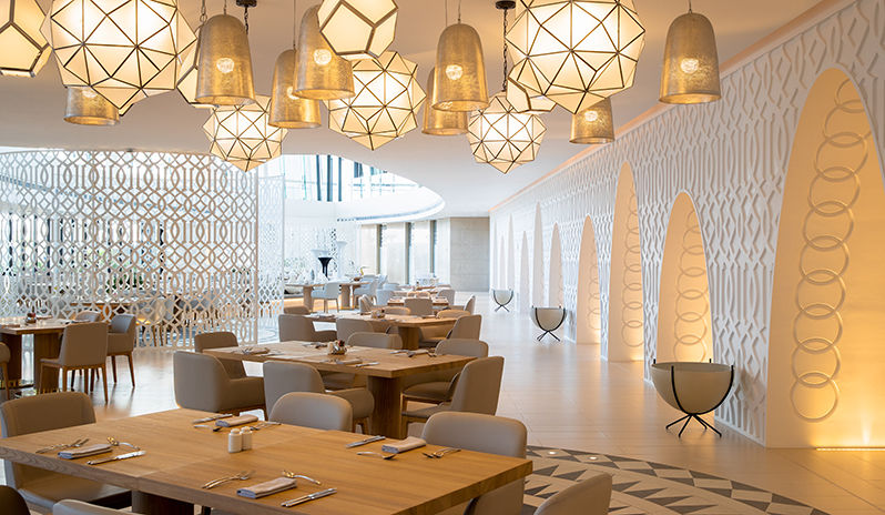Jumeirah At Saadiyat Island Resort White Restaurant