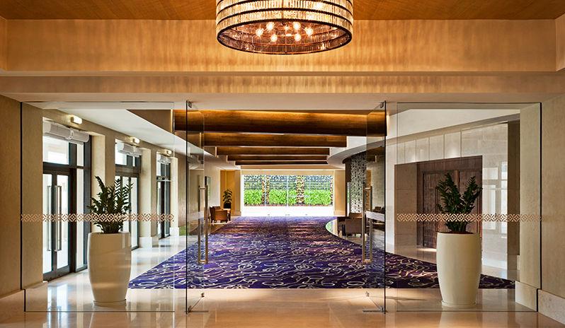 The Westin Abu Dhabi Golf Resort Spa Conference Lobby
