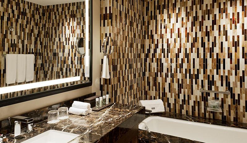 The Westin Abu Dhabi Golf Resort Spa Deluxe Room Bathroom