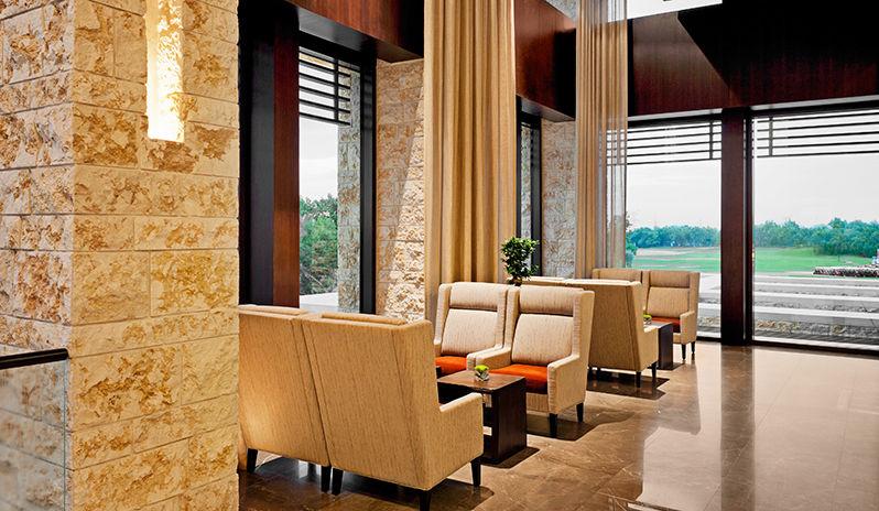 The Westin Abu Dhabi Golf Resort Spa Lobby Lounge Seating Area