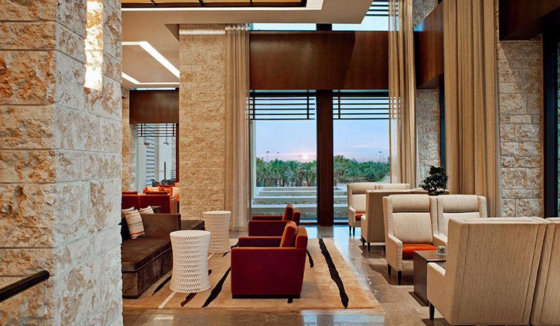 The Westin Abu Dhabi Golf Resort Spa Lobby Lounge Seating Area2