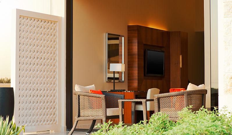 The Westin Abu Dhabi Golf Resort Spa Premium Room Terrace