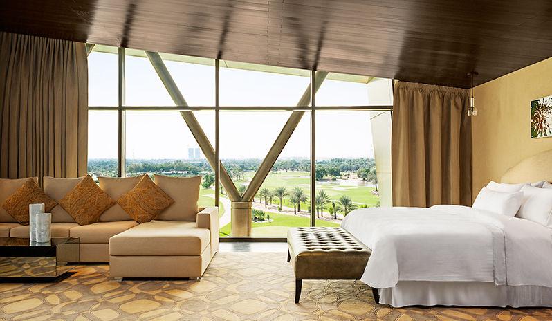 The Westin Abu Dhabi Golf Resort Spa Presidential Suite Master Bedroom