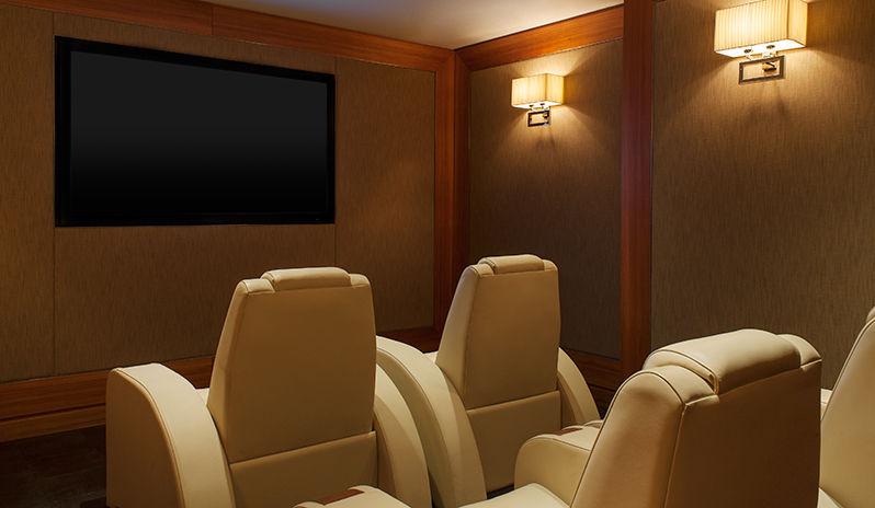The Westin Abu Dhabi Golf Resort Spa Presidential Suite Screening Room