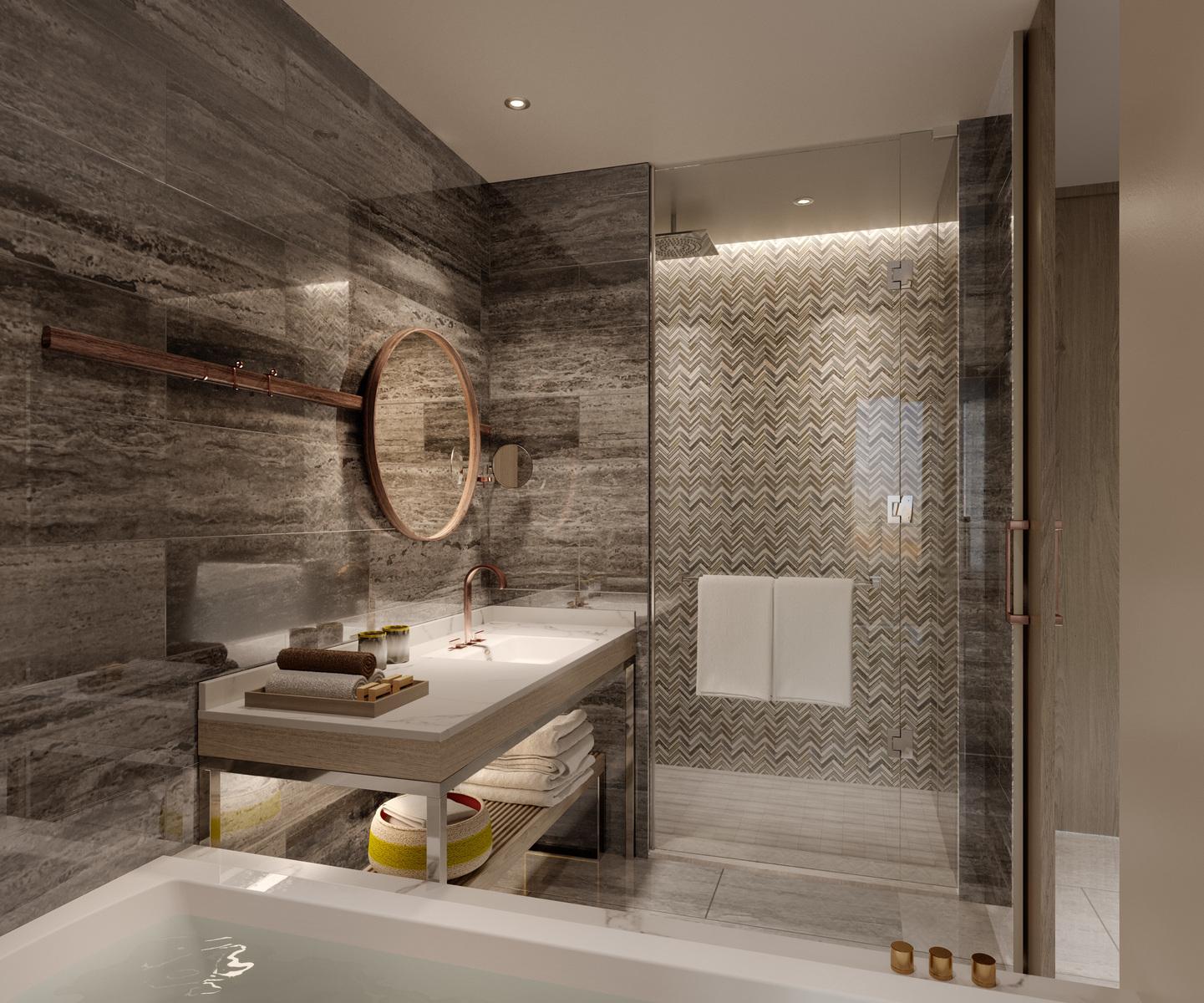 Hilton Abu Dhabi Yas Island Bathroom