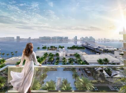 Hilton Abu Dhabi Yas Island Balcony